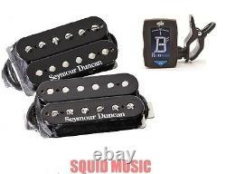 Seymour Duncan SH-18 Whole Lotta Humbucker Set Black Gibson Les Paul FREE TUNER