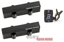 Seymour Duncan SJB-5b & SJB-5n 5 String Jazz Bass Stack Set (GUITAR TUNER)