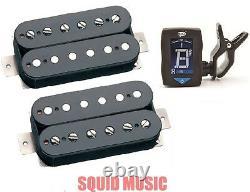 Seymour Duncan Vintage Blues SH-1 59 + SH-1N 59 Black Set (FREE GUITAR TUNER)