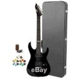 Solid Body ESP JB-M10KIT-BLK-KIT-4 Electric Guitar With Tuner, Picks And Chroma