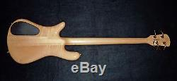 Spector 1999 NS4-CRFM 4 String with Hipshot Drop D Tuner