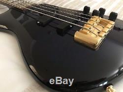 Spector 4 String Bass EURO4LX EMG Pickups, Schaller Tuners, Tiger dark blue