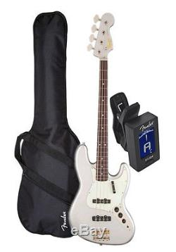 Squier (030-3075-524)Classic Vibe 60s Silver Jazz Bass Bundle withBag&Tuner