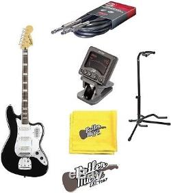Squier by Fender 4 String VM Bass VI Electric Bass Guitar withCable, Tuner + More