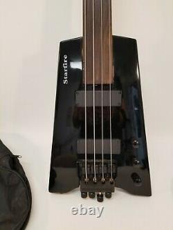 Starfire Spirit XT-2DB Headless Standard DB-Tuner 4-String Electric Bass Guitar