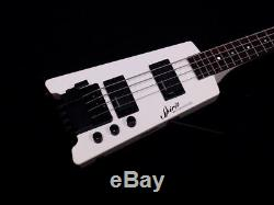 Steinberger Spirit XT-2DB Standard DB-Tuner White Electric Bass Guitar with Gigbag