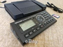 TASCAM GB-10 Teac Guitar and Bass Trainer Recorder Includes Foot Pedal SD Card