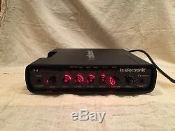 TC Electronic RH450 450 watt Bass Amp with Built in Tuner & Manual