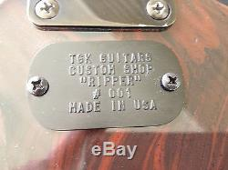 TGK Custom Bass, Explorer Style, Dimarzio Pups, Wilkinson Tuners, Sawblade Inlays