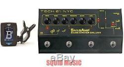 Tech 21 Sansamp Bass Driver DI Deluxe Direct Box Stomp Box (FREE GUITAR TUNER)