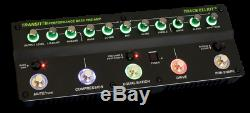 Trace Elliot Transit B Bass Preamp Effects Pedal with 4-Band EQ Tuner