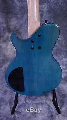 Tricked Out Short Scale Monster, EMG PkUps, HipShot Bridge&Tuners, Solid Mahogny