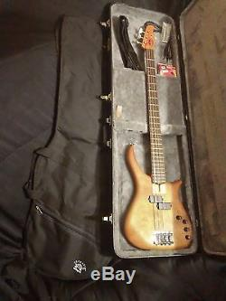 US Masters bass + FREE case gig bag tools strap cable tuner & stings pro set up