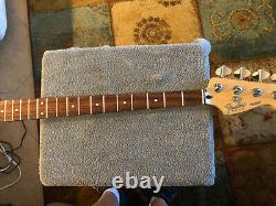 USA Fender 1993/1994 Jazz Bass Neck With Tuners. This Is A Long Neck