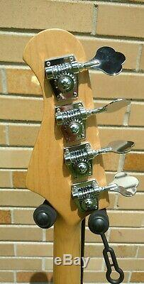 USA seller! Mint Bacchus universe series jazz bass with Gotoh tuners free shipping