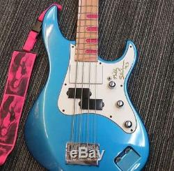 Used! YAMAHA ATTITUDE Mr. Big Billy Sheehan Model Bass THB Blue withD-Tuner HC
