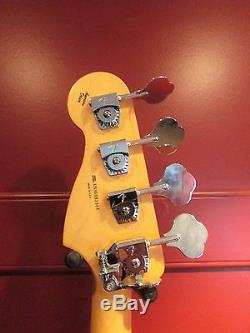 VERY NICE! Fender American Deluxe Precision Bass with Hipshot D tuner