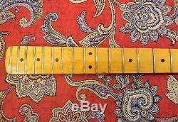 VINTAGE 1978 FENDER PRECISION BASS NECK with TUNERS & PLATE FULLERTON, CA USA