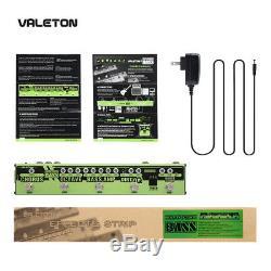 Valeton Guitar Multi Effects Pedal Strip 6 in 1 Bass Tuner, Chorus, Octaver VES-2