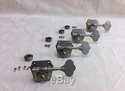 Vintage 1954 Fender Precision Bass Guitar Tuners-Tuning Keys Pegs Gears 1950's
