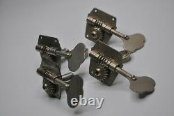 Vintage 1959/1960/1961/1962/1963 Fender Precision Jazz PBass Bass Tuners NICKEL