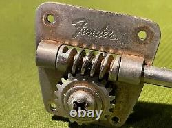 Vintage 1960's Fender Precision or Jazz Bass Guitar Tuners-Tuning Keys 1968-1972