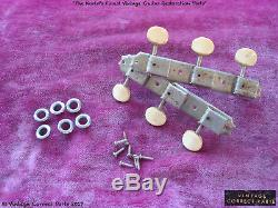 Vintage 1965 Gibson Kluson Strip Tuners Double Line SG Junior Special B-25 LG-1