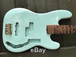 Vintage 1969 Fender Precision Bass Project/Parts Neck, Tuners, Body, Bridge etc