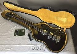 Vintage 1970s Ibanez Lawsuit Bass EB-3 Short Scale with Original Case