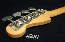 Vintage 1975 Fender Precision Bass Neck & Original Tuners Fullerton Rosewood