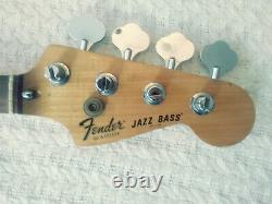 Vintage 1978 Fender Jazz Bass neck Original Tuners, Great Condition