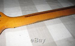 Vintage 1981 G&L L-2000 Bass Guitar Neck with Tuners Maple Fretboard L-2000E