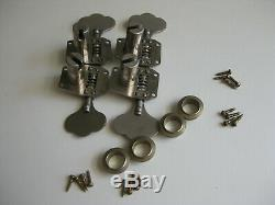 Vintage 60's Gibson Rickebacker Bass Guitar Tuners for Project Upgrade