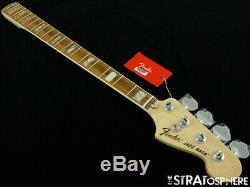 Vintage 70s RI Fender Jazz BASS NECK & TUNERS 1970s Reissue Guitar Pau Ferro