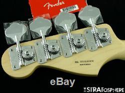 Vintage 70s RI Fender Jazz BASS NECK + TUNERS 1970s Reissue Guitar Pau Ferro