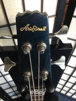 Vintage Aria Pro II Bass guitar, P/J pickups, Gotoh tuners