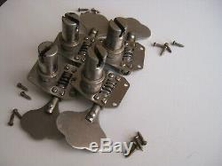 Vintage Gibson Bass Guitar Tuners Set for Project