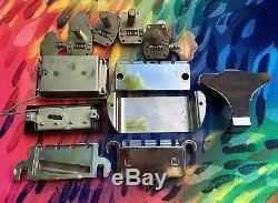 Vintage Gibson EB Bass Guitar Parts Tuners Bridge Covers Pickups
