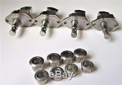 Vintage Kluson Tuners/ Machine Heads for Gibson Bass Guitar or Banjo + Old Pick