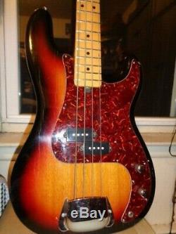 Vintage Memphis P Bass Guitar