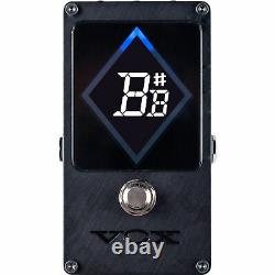 Vox VXT-1 Strobe Pedal Tuner for Electric Guitar and Bass