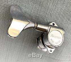 Vtg Ibanez Roadstar Bass Guitar Velve Tune B II Treble Side Tuner Tuning Peg