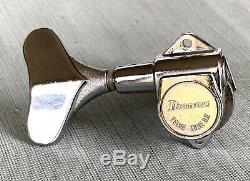 Vtg Ibanez Roadstar Bass Guitar Velve Tune B II Treble Side Tuner Tuning Peg