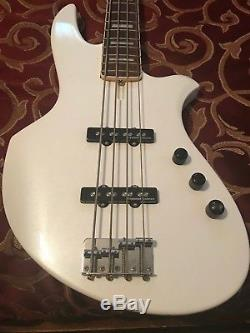 Warmoth 4 String Bass with All Parts Neck Vintage Reverse Tuners 90% Finished
