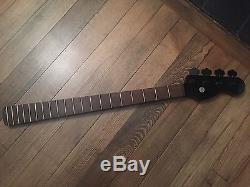 Wenge Precision Bass Guitar Neck USA with Hipshot Tuners P Fits Fender P J Jazz