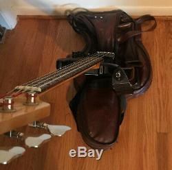 Yamaha BB200 Electric Bass Guitar, Tuner, Crybaby Pedals, Cables, Microphones