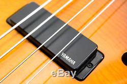 Yamaha BEX4 Semi-Hollowbody Electric Bass with Gotoh Xtender Key Tuner & Gig Bag