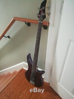 Yamaha Electric Bass Misty Purple RBX 270 J includes cord, tuner and soft case